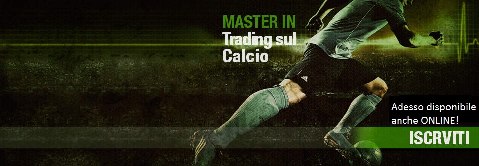Master in Trading sul Calcio